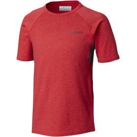 Columbia Silver Ridge II Shortsleeve Shirt Children red